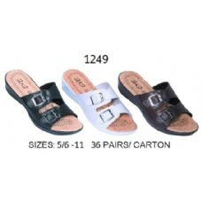 36 of Ladies Sandal With Two Buckle