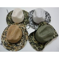 72 of Boonie Hat-Solid Mesh with Camo Brim