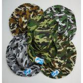 24 of Men's Camouflage Boonie Hat