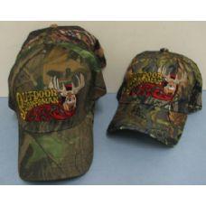 24 of Camo Outdoor Sportsman Hat-Deer