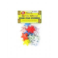 72 of Foam Star Stickers 80 Pack