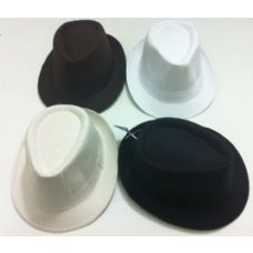 24 of Fedora Hat-Solid Colors