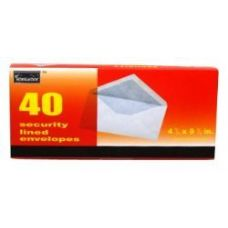 96 of Boxed Security Envelopes - #10 - 40 count