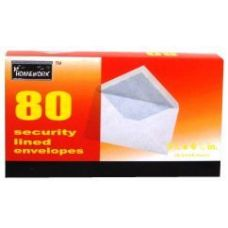 24 of Boxed Security Envelopes - #6 3/4- 80 count