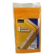 24 of Bubble Mailers - 6 x 9.25 - 4 pack - Wrapped