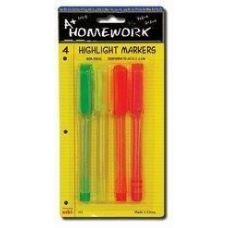 48 of Highlighter Markers - 4 pk - Fine Point - Asst. Neon Colors