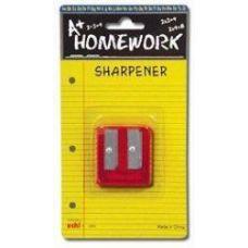 48 of Sharpener - Pencil - Duel Metal Blades - 2 hole
