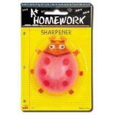 48 of Sharpener - Pencil - Lady Bug Design - 1 pack