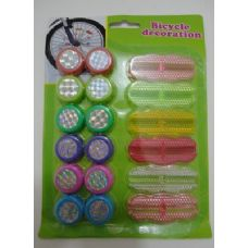 72 of 18pc Bicycle Reflectors