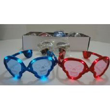 240 of Light Up Glasses-Skulls