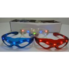 240 of Light Up Glasses-Spider