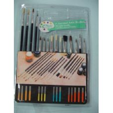 60 of Artist Paintbrushes 15 Piece Set