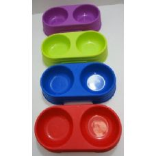 120 of Pet Food Dish-Assorted Colors