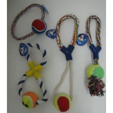 36 of Rope Pet Toy Assortment