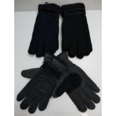 144 of Mens Thermal Insulate Gloves w/ Suede Palm-Colors