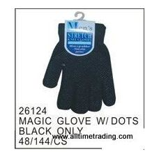 72 of Black Magic Glove With Rubber Dots