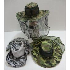 60 of Camo Mesh Boonie with Mesh Flap