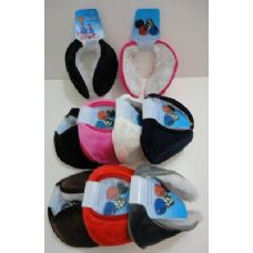 144 of Earmuffs with Fur Inside--Solid Color