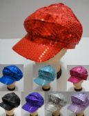 24 of Sequin Newsboy Hats