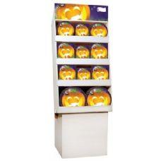 Pumpkin Grins Pre-Packed Floor Shipper, 156 Ct.