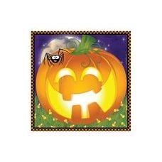 144 of  Pumpkin Grins Luncheon Napkins -16CT