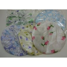 36 of 3pc Printed Shower Cap