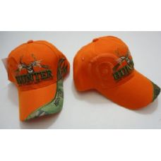 96 of HUNTER Hat--LIVE TO HUNT.HUNT TO LIVE [Target Shadow]-Orange Only