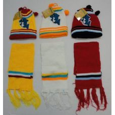144 of Baby Knit Cap with Scarf--Dolphins