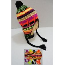 144 of Helmet Hat Knit Design Neon