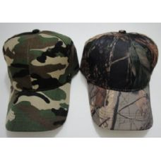 144 of Solid Camo Hat-Army & Hardwoods Camo