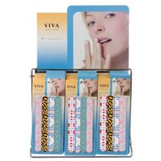 144 of Viva 4 Pc Nail Care Set On Display Rack
