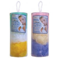 72 of 3 Piece Ruffle Body Sponge In Canister