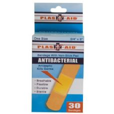 72 of Item# 990 30 Count Antibacterial Bandages