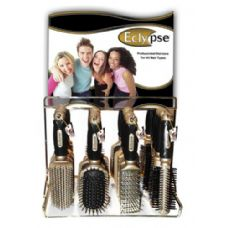 144 of Eclypse Hairbrush On Metal Display Rack