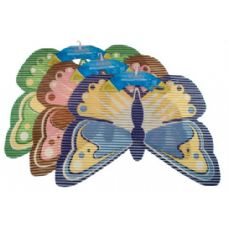 48 of Item# 4574 Non-Slip Mat Butterfly Shape