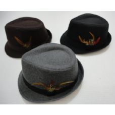 48 of Fedora Hat with Feather