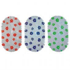 36 of Bath Mat Flowers 15in by 26in