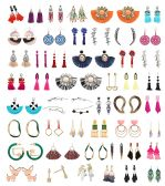 48 of Earrings Bulk Lot Sterling Silver Stainless Steel Jewelry Many Styles And Colors