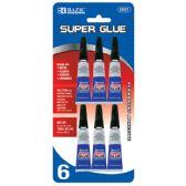 24 of 3g / 0.10 Oz. Super Glue (6/Pack)