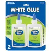 24 of 4 Oz. (118mL) White Glue (2/Pack)