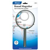 "12 of 4"" Round 2x Handheld Magnifier"