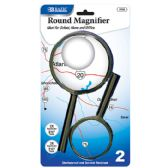 """48 of 3.5"""" & 2.5"""" Round Handheld Magnifier Sets (2/Pack)"""