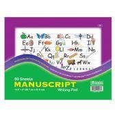 "48 of 50 Ct. 10.5"" X 8"" Manuscript Writing Pad"