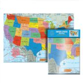48 of Folded U.S. Wall Map
