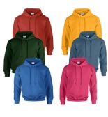 48 of Gildan Unisex Mill Graded Irregular 2ND Hooded Pullover Sweat Shirts