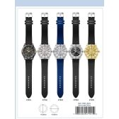 12 of 41MM Milano Expressions Silicon Band Watch - 47902-ASST