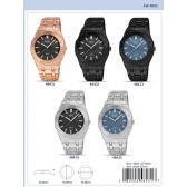 12 of 42MM Milano Expressions Metal Band Watch - 48431-ASST