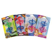 48 of SPIRAL TOP MARKERS 2 PK 2 INCH ASSORTED PRINCESS/SPIDERMAN/ SOFIA THE FIRST/TEENAGE MUTANT NINJA TURTLE CHARACTERS