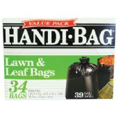 6 of HANDI BAG LAWN AND LEAF BAGS 34 COUNT 39 GALLON VALUE PACK