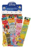 240 of DISNEY AWARD RIBBON 8 INCH IN DISPLAY ASSORTED STYLES